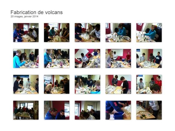 Fabrication de volcans